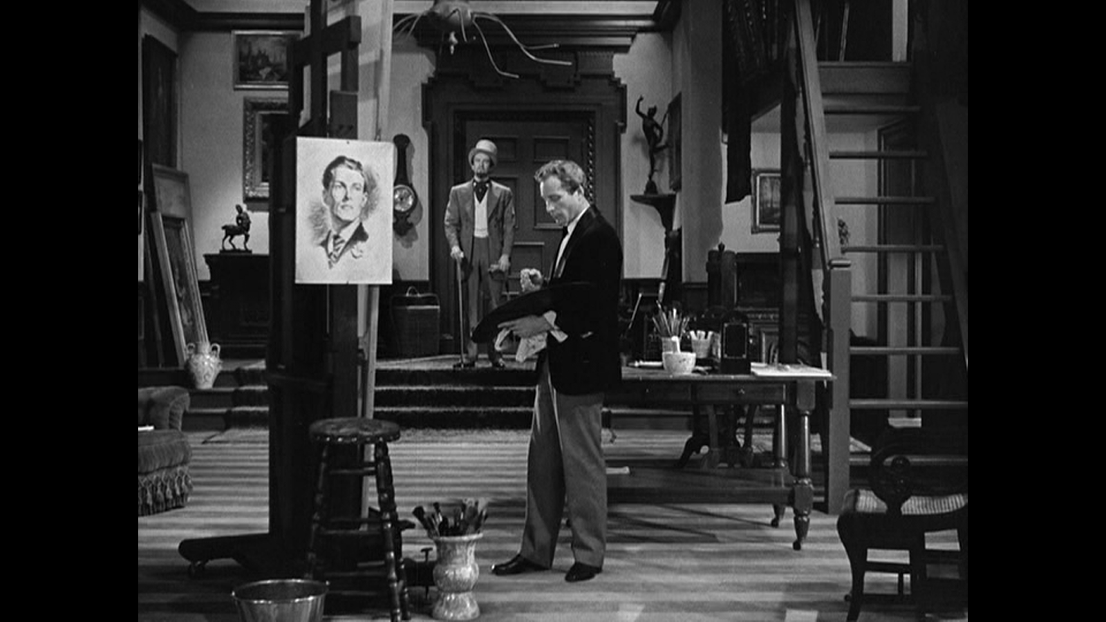 the haunted portrait of dorian gray in the picture of dorian gray it is a secret basil confesses because some strange energy has overseen the creation of the portrait he explains that the painting all but created itself