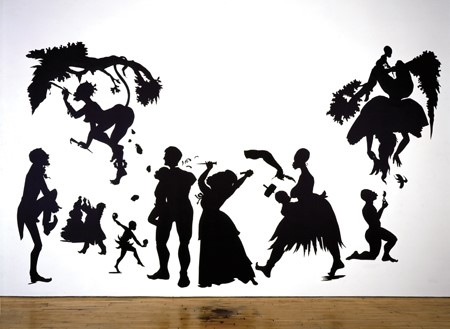The silhouette as reagent in Kara Walker's Gone (1994) and other ...